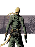 Immortal Iron Fist No.3 Cover: Iron Fist Wall Decal by David Aja