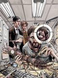 Omega: The Unknown 6 Cover: Marvel Universe Plastic Sign by Farel Dalrymple