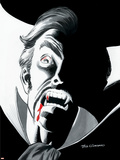 Stokers Dracula No.4 Cover: Dracula Plastic Sign by Dick Giordano