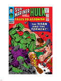 Tales To Astonish No.79 Cover: Hulk and Hercules Wall Decal by Reilly Brown