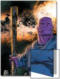 Thanos No.8 Cover: Thanos Prints by Keith Giffen