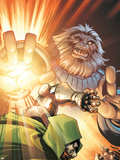 Doctor Doom and The Masters of Evil No.3 Cover: Blastaar Plastic Sign by Karl Kerschl