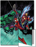 Free Comic Book Day No.1 Cover: Spider-Man, Iron Man and Hulk Posters by David Nakayama