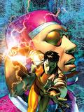 Marvel Comics Presents No.8 Machine Man Cover: Machine Man Wall Decal by Brandon Peterson