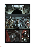 Dark Reign: The Cabal No.1 Group: Osborn, Norman, Hawkeye, Wolverine, Sentry and Ms. Marvel Plastic Sign by Adi Granov