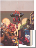 Marvel Reading Chronology 2009 Cover: Spider-Man Wood Print by Jorge Molina