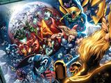 Nova Annual No.1 Group: Thor, Vision, Iron Man, Captain America and Dr. Doom Prints by Wellinton Alves