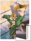 Iron Fist No.2 Cover: Iron Fist Wood Print by Kevin Lau