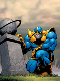 Thanos No.7 Cover: Thanos Wall Decal by Jim Starlin