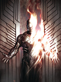 Human Torch Comics 70th Anniversary Special No.1 Cover: Human Torch Posters by Adi Granov