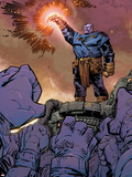 Thanos No.9 Cover: Thanos Plastic Sign by Keith Giffen