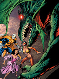 New Exiles No.5 Cover: Morph and Sage Wall Decal by Alan Davis