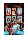 New Exiles No.0 Cover: Sabretooth Wall Decal by Tom Grummett