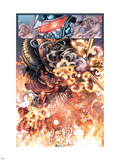 War Of Kings: Darkhawk 2: Marvel Universe Wall Decal by Harvey Tolibao