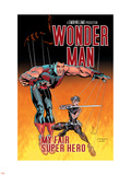 Wonder Man No.3 Cover: Wonder Man and Ladykiller Wall Decal by Andrew Currie