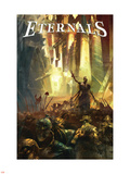 Eternals No.1 Cover: Eternals Plastic Sign