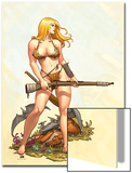 Shanna, The She-Devil No.4 Cover: Shanna The She-Devil Art by Frank Cho