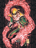 Iron Fist No.1 Cover: Iron Fist Plastic Sign by Kevin Lau