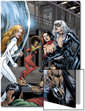Heroes For Hire No.7 Group: Black Cat, Knight, Misty, Tarantula, Shang-Chi, Wing and Colleen Poster by Al Rio