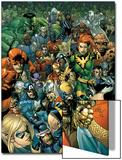 Secret Invasion Saga Cover: Daredevil Print by Leinil Francis Yu