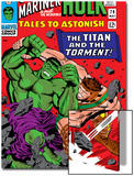 Tales To Astonish No.79 Cover: Hulk and Hercules Print by Reilly Brown