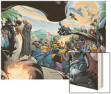 Black Panther Annual No.1 Group: Marvel Universe Wood Print by Larry Stroman