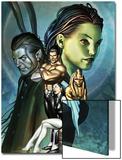 Inhumans No.12 Cover: Alaris, San, Tonaja, Nahrees and Inhumans Poster