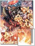 War Of Kings: Darkhawk 2: Marvel Universe Art by Harvey Tolibao