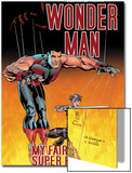 Wonder Man No.3 Cover: Wonder Man and Ladykiller Posters by Andrew Currie