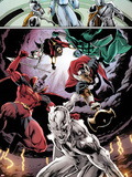 Annihilators No.2: Silver Surfer, Gladiator, and Beta-Ray Bill Plastic Sign by Tan Eng Huat