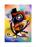 Homage to Kandinsky Plakat af Alfred Gockel