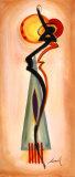 Chanteuse I Poster von Alfred Gockel