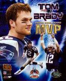 Tom Brady - Super Bowl XXXVIII MVP Champions Collection (Limited Edition) Photo