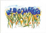 Field of Tulips Poster von Alfred Gockel