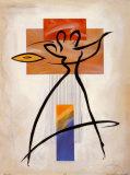 Spirit Dance II Plakater af Alfred Gockel