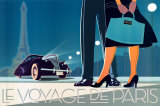 Voyage de Paris II Prints by David Brier