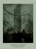 Flatiron, New York City on a Rainy Night Prints by Edward J. Steichen