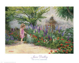 Little Gardener Art by June Dudley