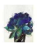Blauer Blumenstrauss Prints by Johannes Bender