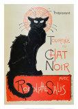 Tournee du Chat Noir Kunstdrucke von Théophile Alexandre Steinlen