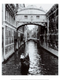 Kanal in Venedig Kunstdruck von Cyndi Schick