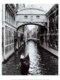 Kanal in Venedig Poster von Cyndi Schick