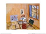 L'Atelier au Bouquet Affiches par Raoul Dufy