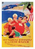 Cote d'Azur-Enfant Prints