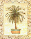 Palm Tree II Prints by Bradley H. Clark