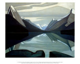 Maligne Lake, Jasper Park Posters by Lawren S. Harris
