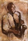 Jazz III Print by  Elena