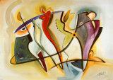 Group Gyrations I Posters af Gockel, Alfred