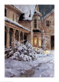 First Snow Prints by Mitch Billis