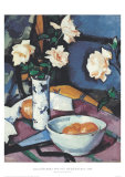 Still Life With Roses Posters by Samuel John Peploe